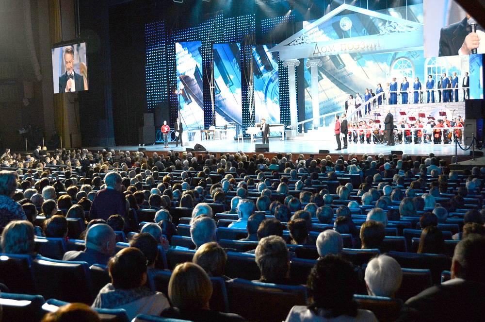 Юбилейный вечер поэта Андрея Дементьева в Кремле