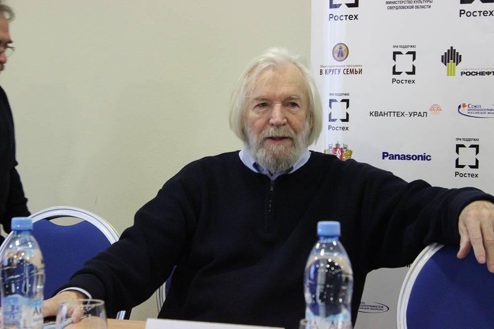 Станислав Любшин, Народный артист России, председатель жюри конкурса полнометражных художественных фильмов для семейного просмотра