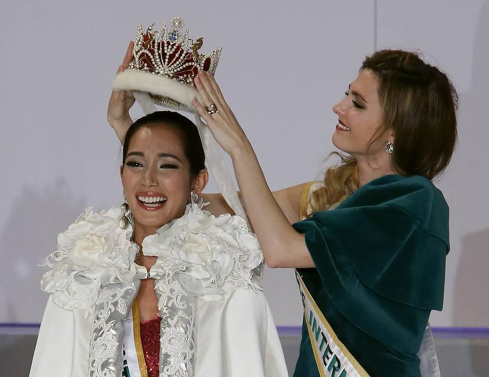 Победительница конкурса  Беа Роуз Сантьяго