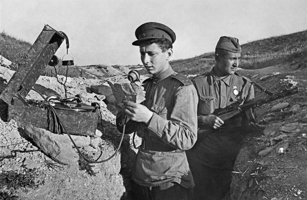 Связь на войне, 1943 г.