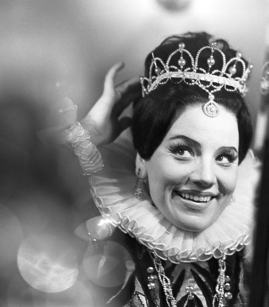 "Опера Джузеппе Верди ""Дон Кихот"", Ирина Богачева в роли принцессы Эболи, 1977 г."