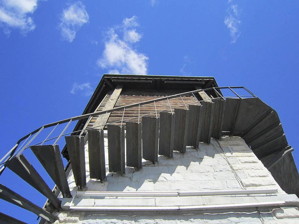 Лестница Водонапорной башни