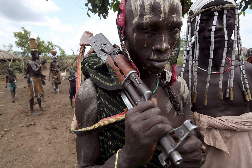 Эфиопский солдат