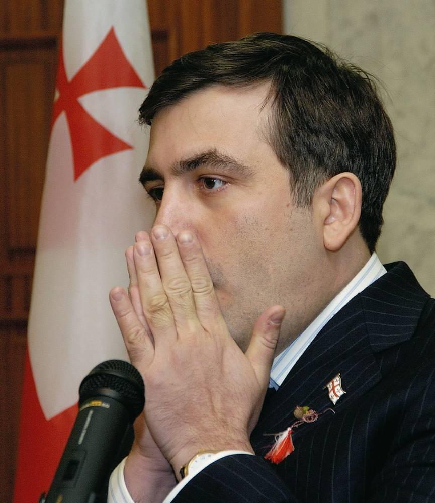 Михаил Саакашвили ушел с поста президента Грузии