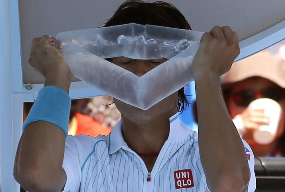Японский теннисист Кей Нисикори