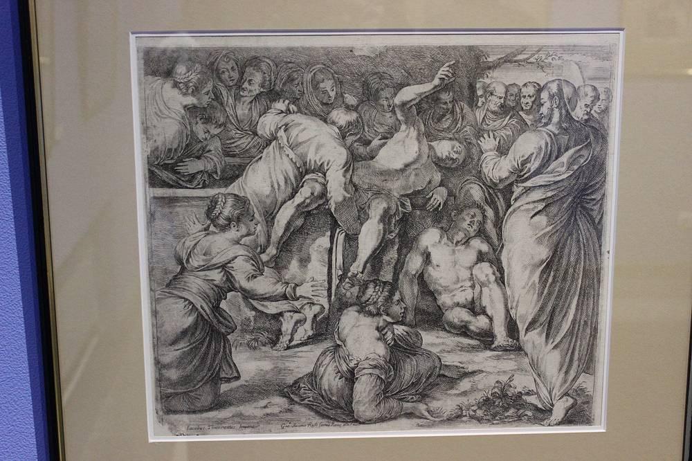 """""""Воскрешение лазаря"""". Якопо Робусти (Тинторетто). Итальянская школа. Венеция, около 1570-1590 гг."""