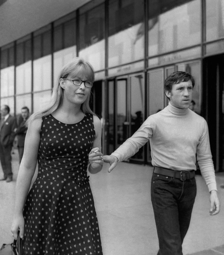Владимир Высоцкий и Марина Влади, 1968 г.