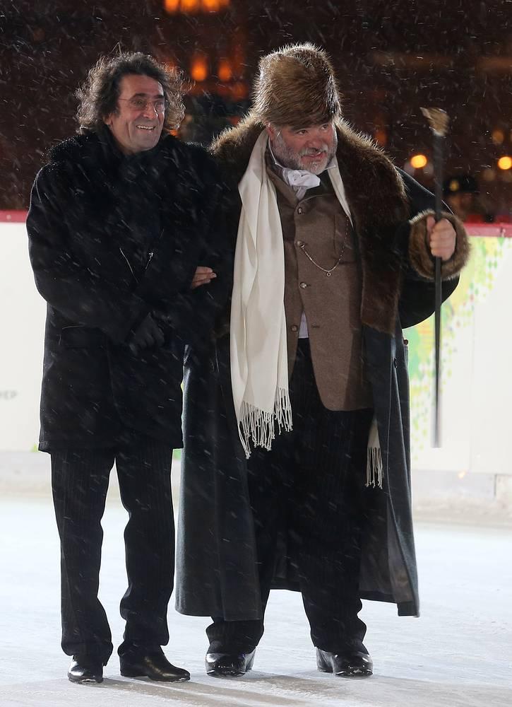 Юрий Башмет и  Михаил Куснирович, Москва, Россия