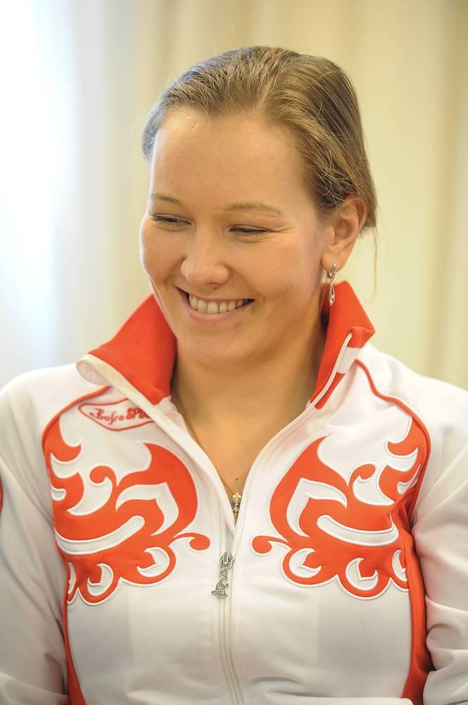 Трехкратная паралимпийская чемпионка по лыжным гонкам и биатлону Анна Миленина