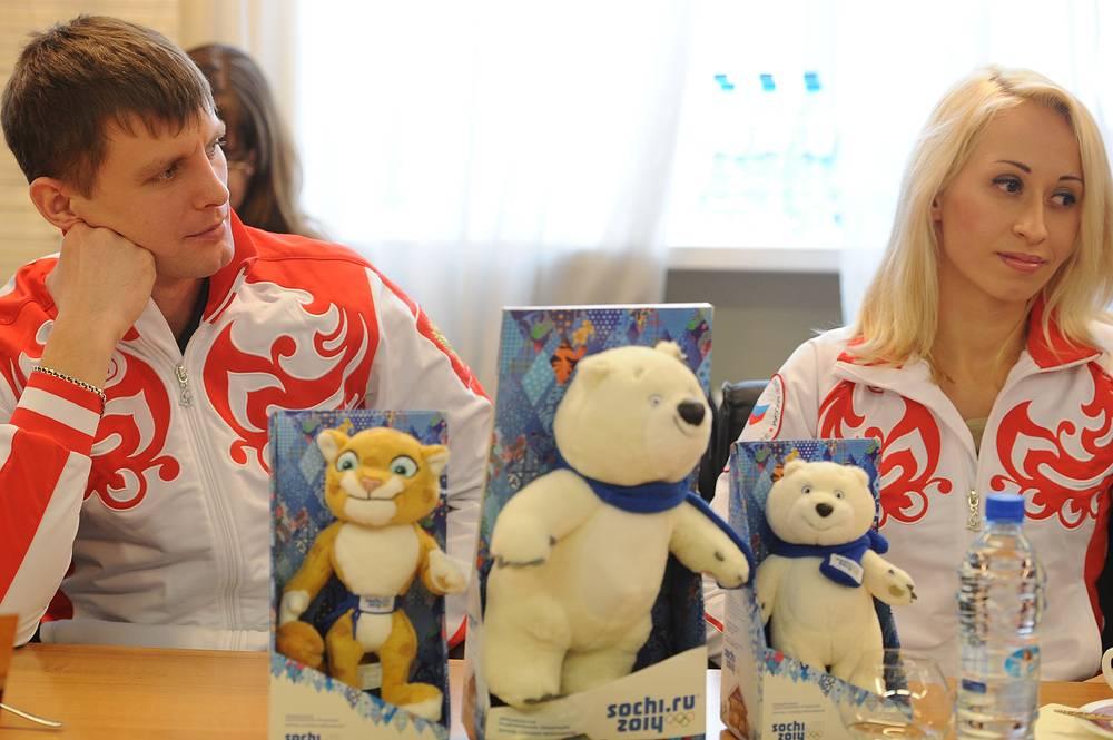 На встрече с участниками XI Паралимпийских зимних игр 2014 года