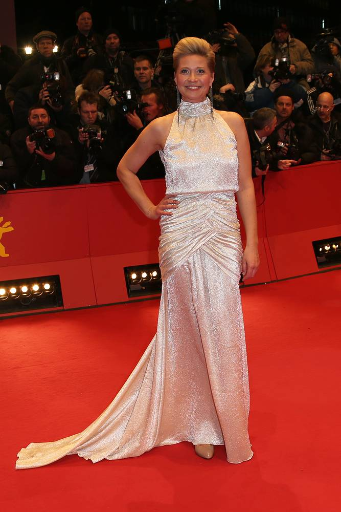 Член жюри фестиваля актриса Трине Дюрхольм