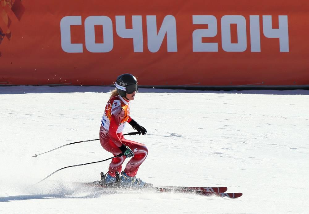 Швейцарская спортсменка Лара Гут
