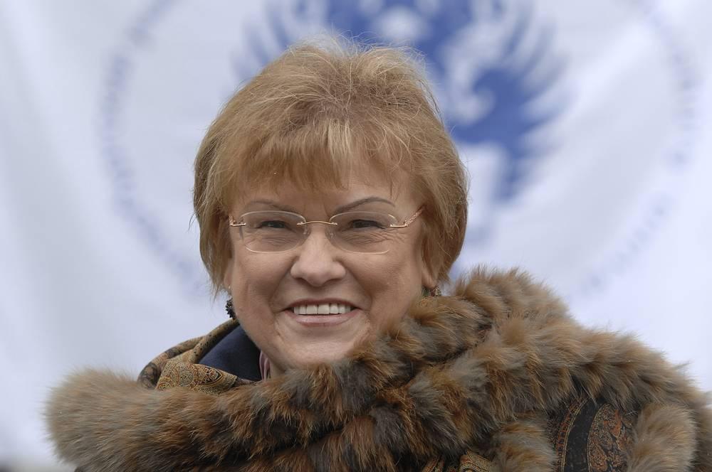 Ректор Санкт-Петербургского государственного университета Людмила Вербицкая.