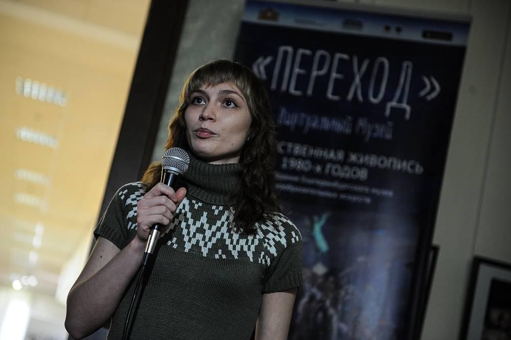 """На открытии виртуальной экспозиции """"Переход"""""""