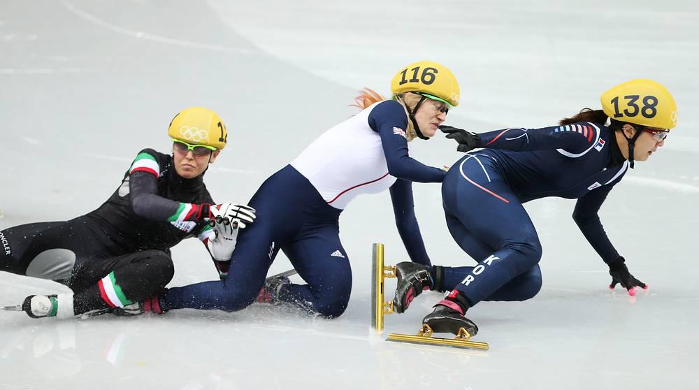 В финале на 500 метров главное держаться друг за друга