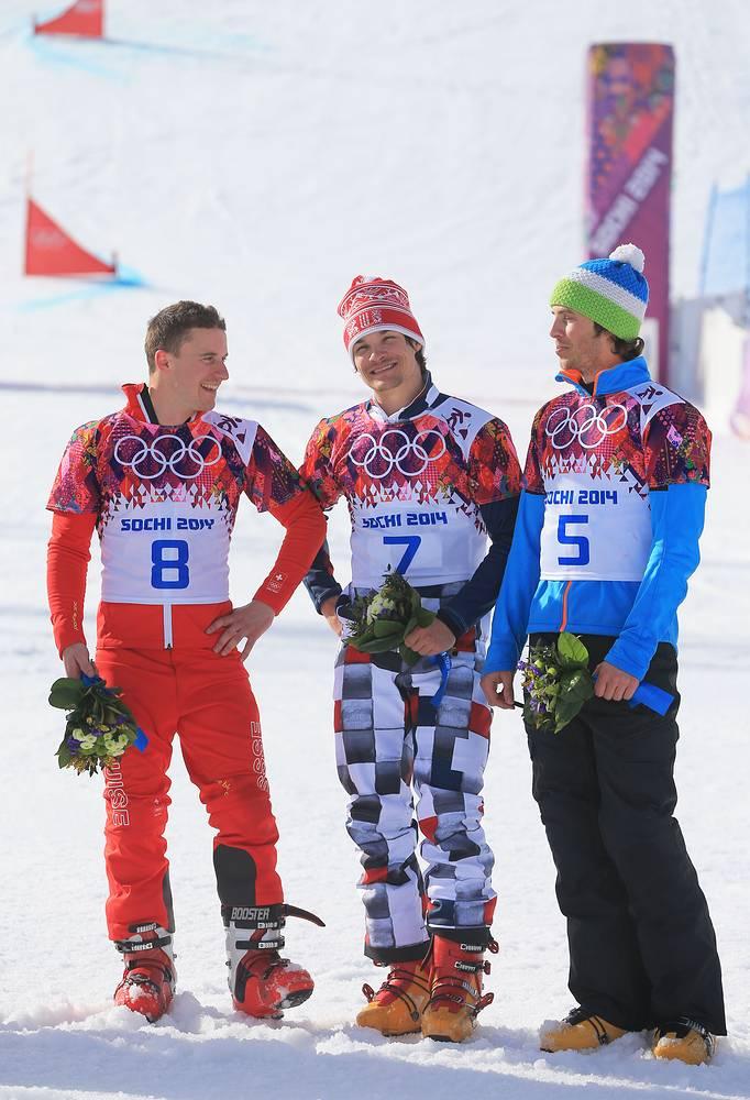 Российский сноубордист Виктор Вайлд завоевал золото Олимпиады в параллельном гигантском слаломе