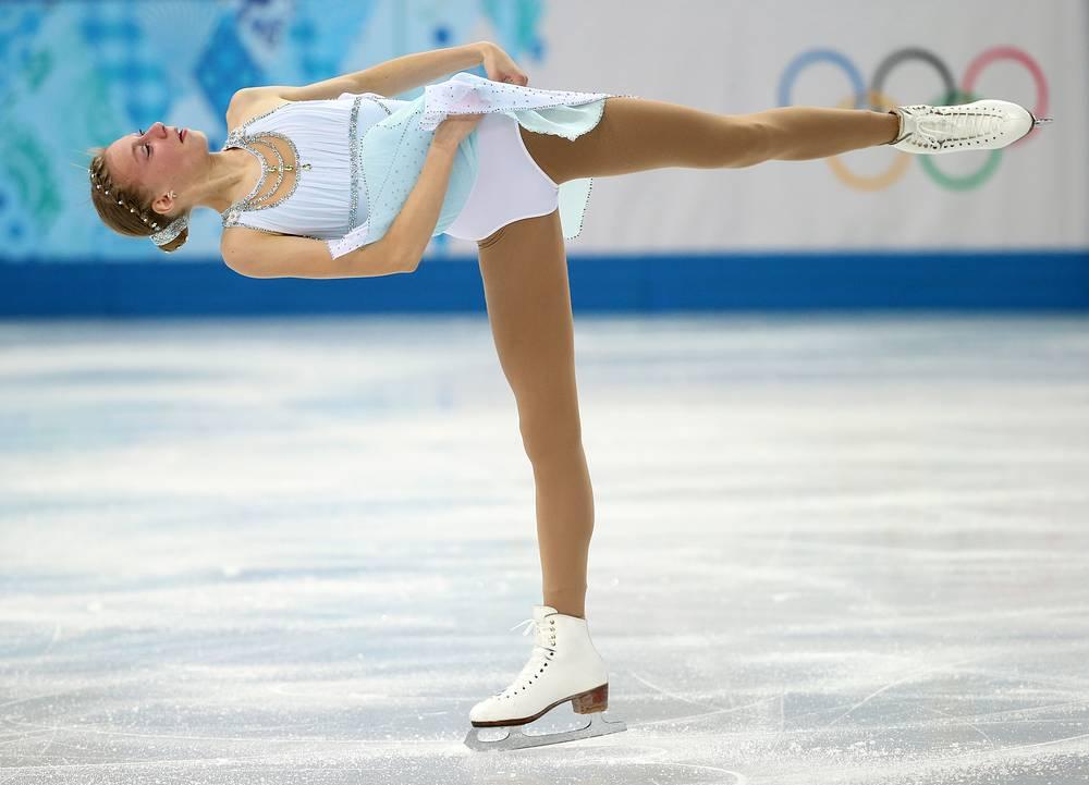 Американская фигуристка Полина Эдмундз (183.25)