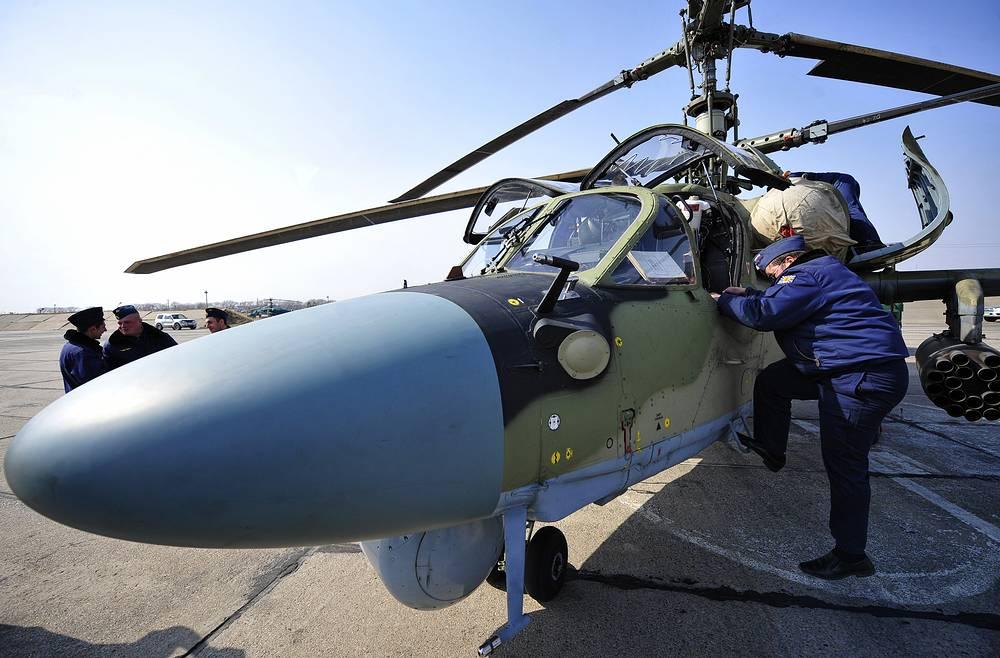 """Боевой вертолет Ка-52 """"Аллигатор"""""""