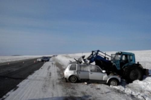 Авария в Баяндаевском районе Иркутской области