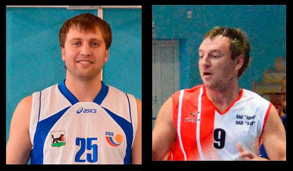 Вячеслав Баженов (слева) и и Руслан Прокопьев