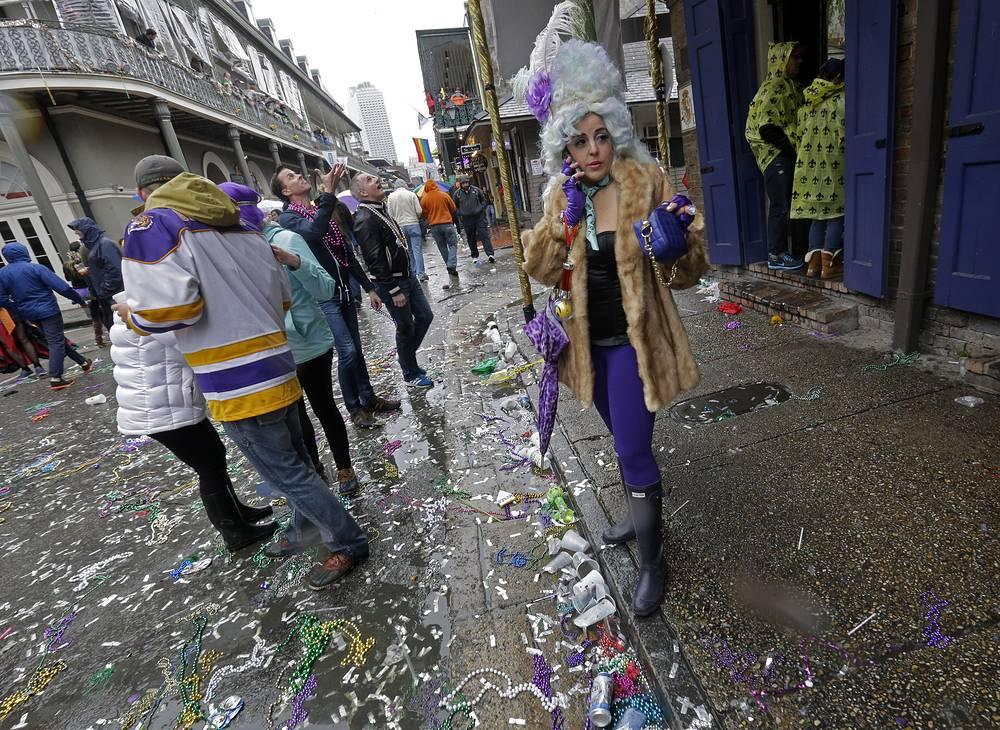 """Новоорлеанский карнавал часто называют """"самой лучшей бесплатной вечеринкой в мире"""""""