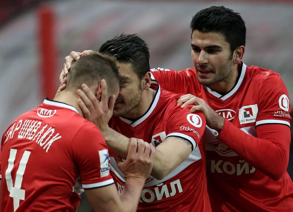 Сергей Паршивлюк, Сальваторе Боккетти, Сердар Таски (слева направо)