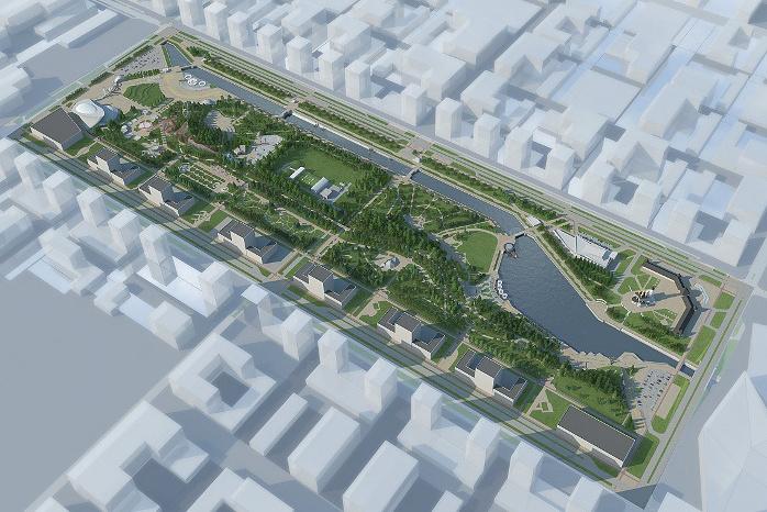 Проект Преображенского парка
