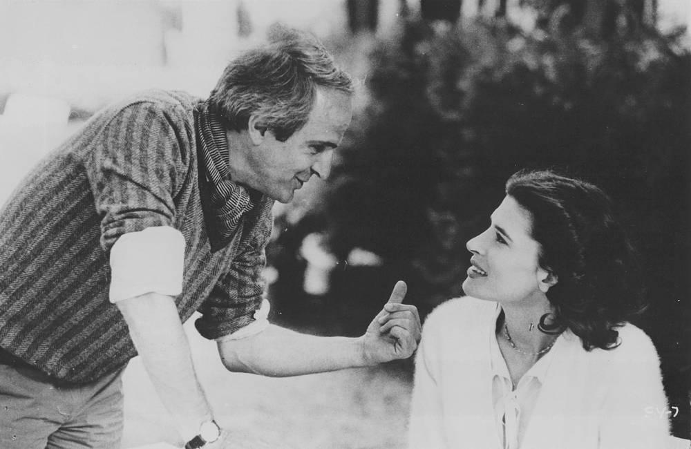 Франсуа Трюффо и Фанни Ардан, 1970-е
