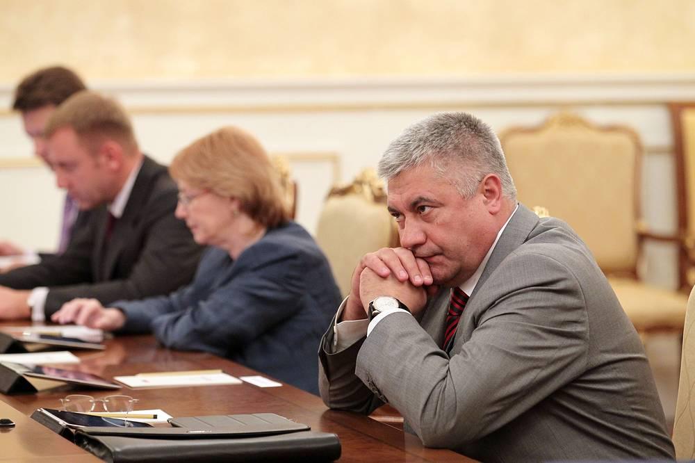 Министр внутренних дел Владимир Колокольцев