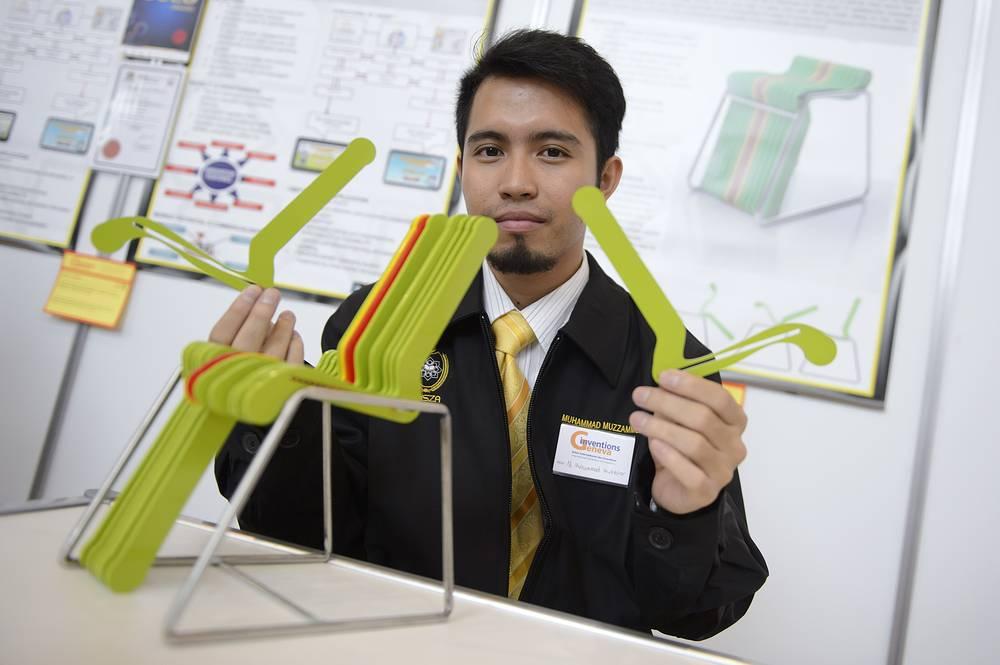 "Модель стула компактного дизайна ""Zuhause"", изобретение Мухаммеда Музаммеля Мохтара (Малайзия)"