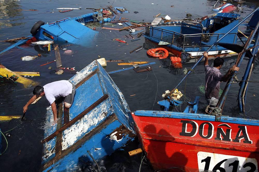 Землетрясение магнитудой 8,2 произошло у побережья Чили 2 апреля