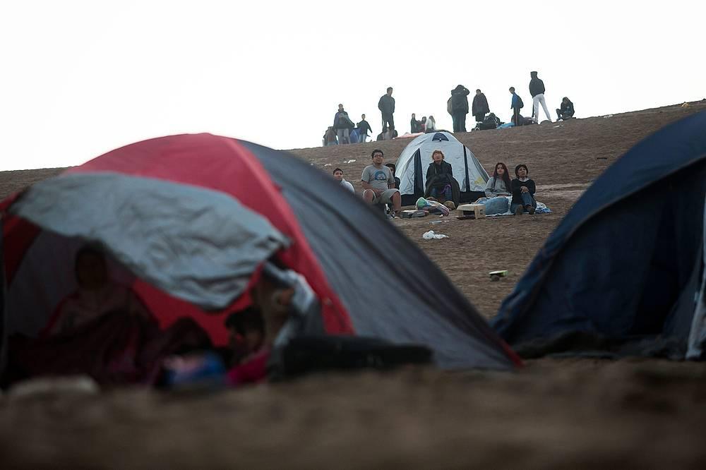 Более 900 тыс. человек были эвакуированы с тихоокеанского побережья Чили