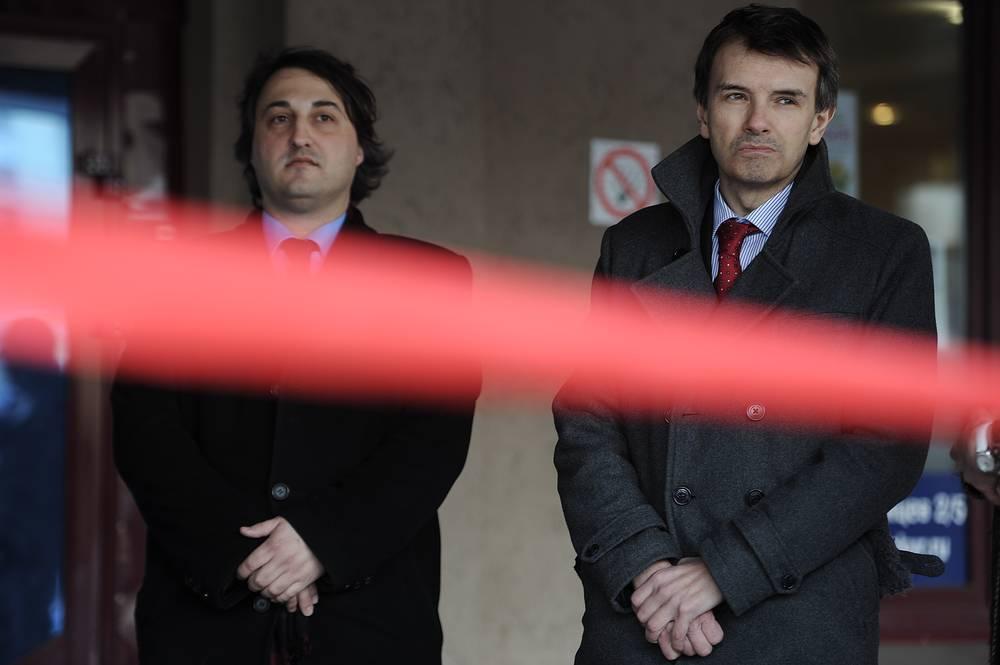 Франциско де Борха Родригес Пантоха де Ори (слева) - почетный консул Королевства Испании в Екатеринбурге