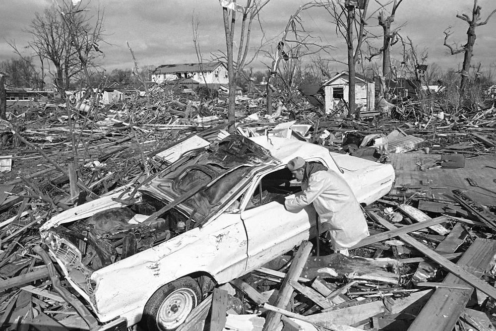 21-22 февраля 1971 года в штатах Луизиана, Миссисипи и Северная Каролина 19 торнадо унесли жизни 123 человек. Было разрушено несколько городов. В штате Огайо ущерб составил $2,8 млрд, общий ущерб не подсчитан