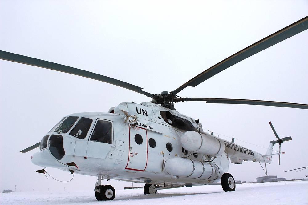 Миротворческий вертолет Центрального военного округа