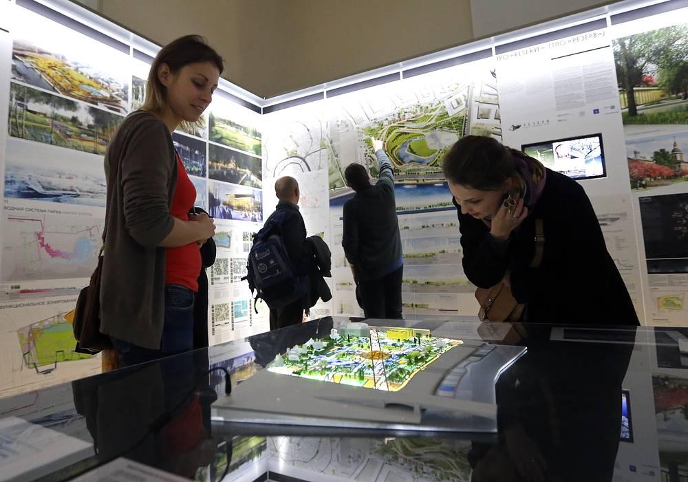 """Возведение парка """"Зарядье"""" начнется в конце 2014 года. Территория составит 13 гектаров"""