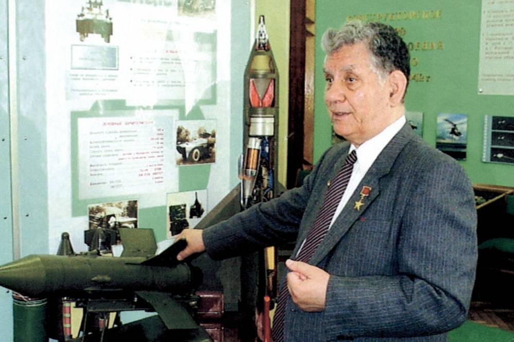 Благодаря конструктору было создано новое научно-техническое направление - активная защита бронетанковой техники