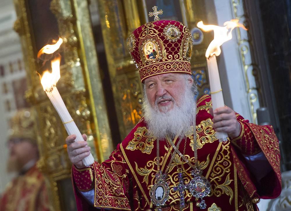 Патриарх Московский и всея Руси Кирилл. Россия