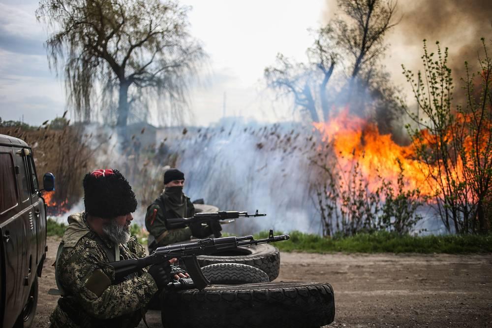 Ночью на 20 апреля в Добропольском районе произошла перестрелка