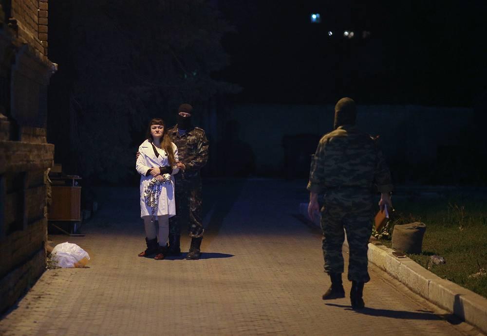 """В Славянске задержана лидер """"Женской сотни"""" майдана Ирма Крат"""