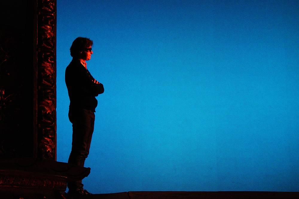 Народный артист России, художественный руководитель балета Большого театра Сергей Филин на репетиции Гала-концерта
