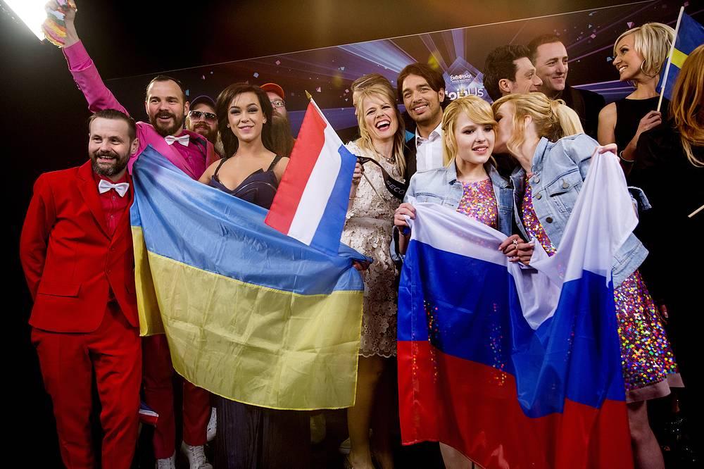 Участники первого полуфинала, прошедшие в финал конкурса