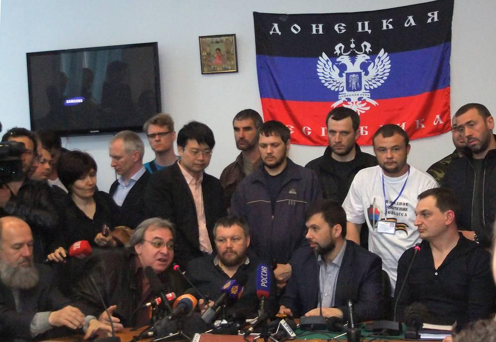 Совет Донецкой народной республики отказался переносить референдум