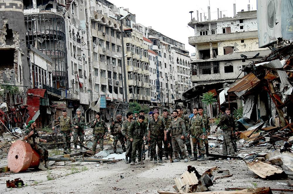 Город Хомс, Сирия. 8 мая 2014 года
