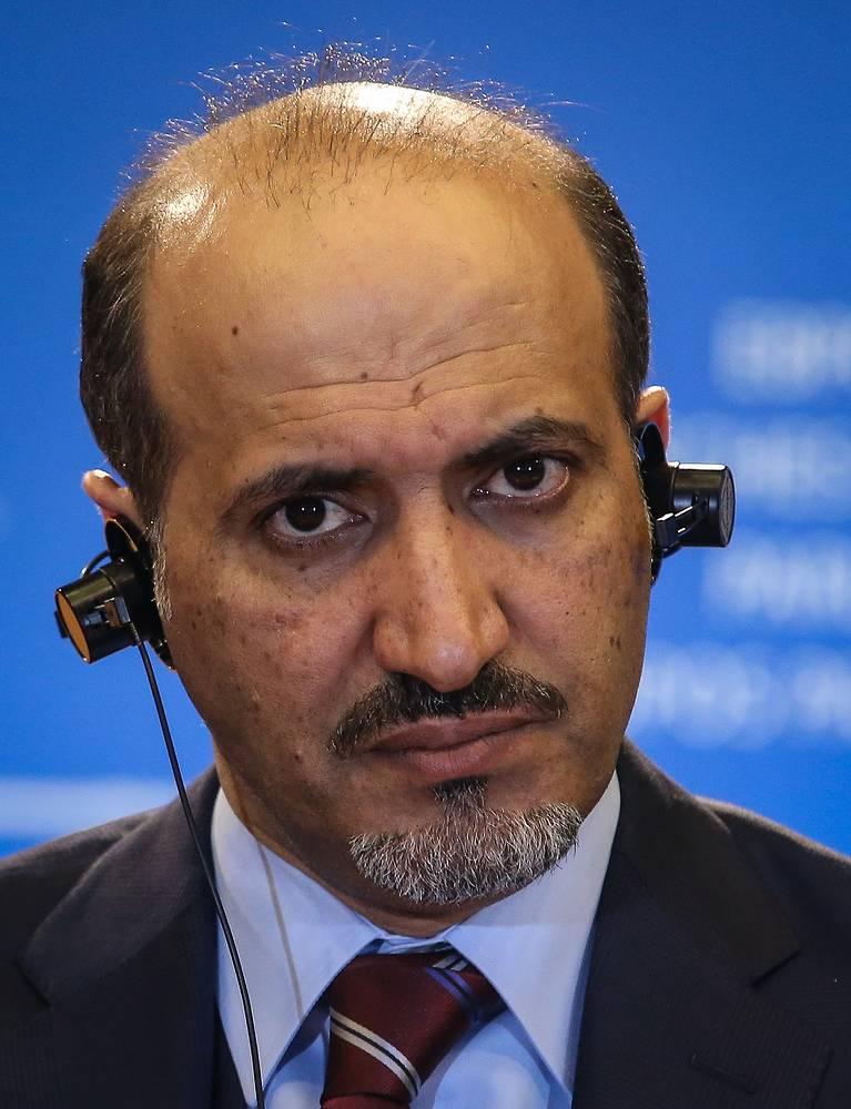 Руководитель Национальной коалиции оппозиционных и революционных сил Сирии Ахмед аль-Джарба