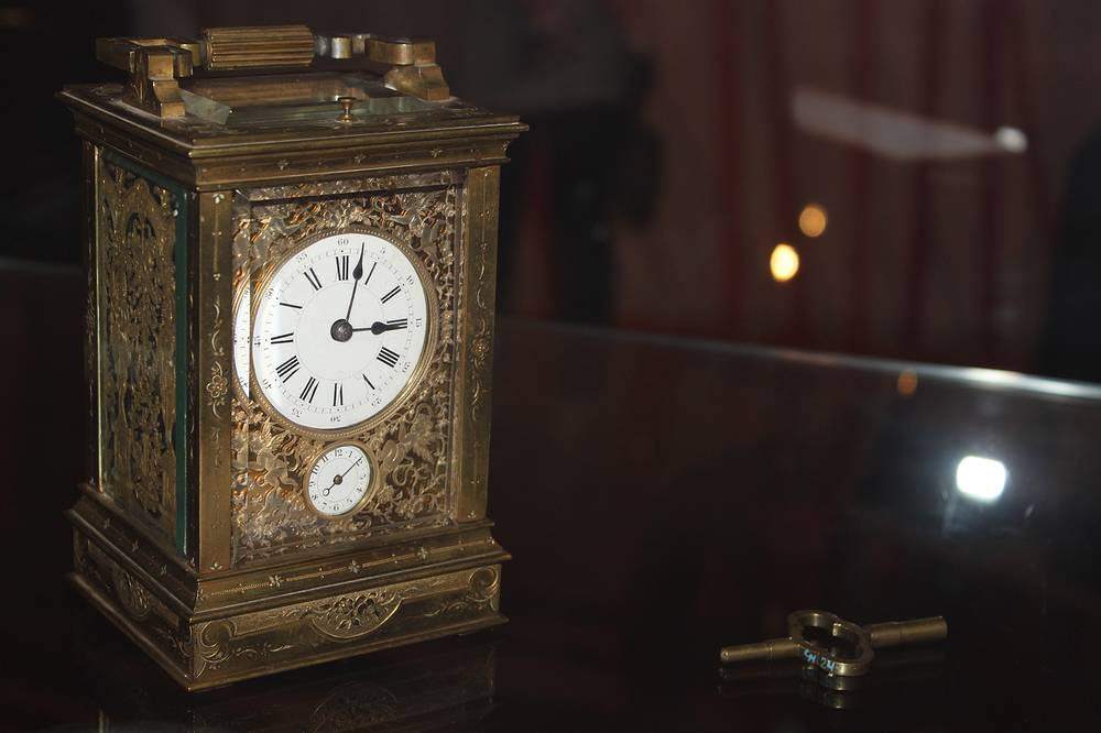 Каретные часы. XVIII век