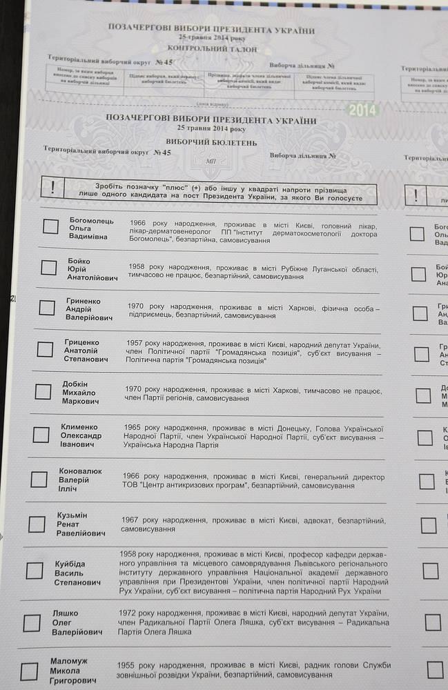 В МИД Украины сообщили, что для проведения голосования по выборам президента на территории России создается шесть избирательных участков. Общее число украинских избирателей за рубежом, по данным ведомства, составляет почти 470 тыс. человек