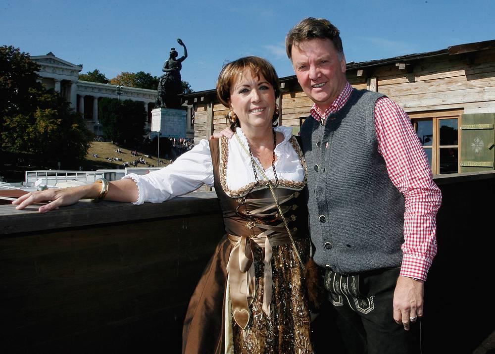 С женой Труус на Октоберфесте в 2009 году