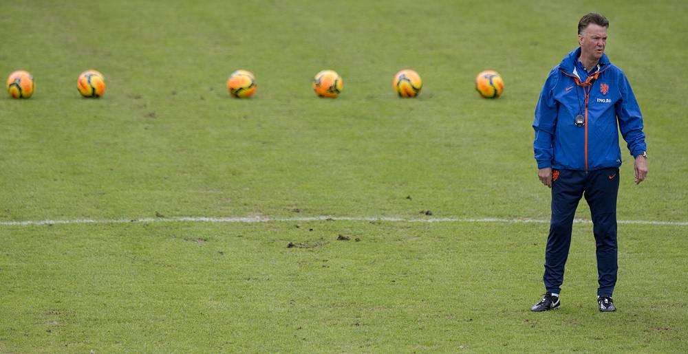 С 2012 года ван Гал является главным тренером сборной Нидерландов, сменив на этом посту Берта ван Марвейка после провала на Евро-2012
