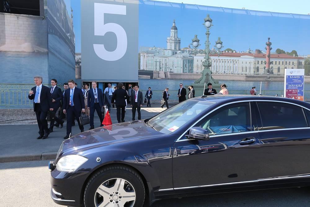 Третий день XVIII Петербургского международного экономического форума
